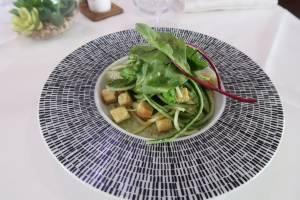 entrée restaurant du Golf de Valgarde semaine du 29 Juillet 2019