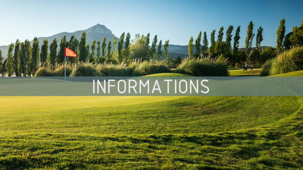 Informations Importantes du Golf de Valgarde