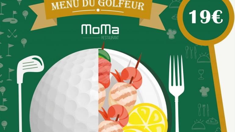 Nouveauté Gourmande au Moma – Menu Golfeur à 19 €