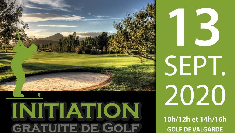 Initiation Gratuite de golf – 13 septembre 2020