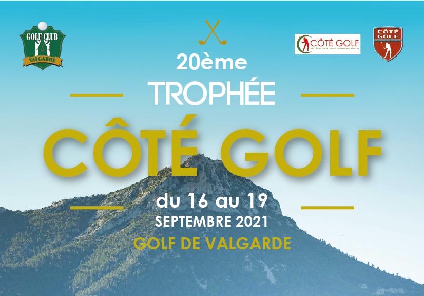 20ème Trophée Côté Golf – du 16 au 19 septembre 2021