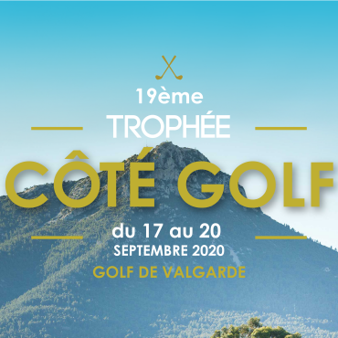 TROPHÉE CÔTÉ GOLF – DÉPARTS DIMANCHE 20 EN LIGNE