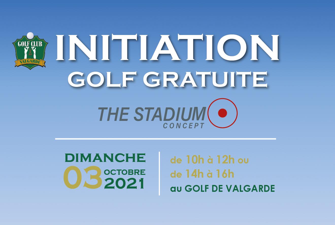 Initiations Gratuite au Golf – dimanche 3 octobre 2021