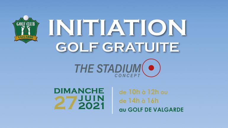 Initiations Gratuite au Golf – dimanche 27 juin 2021