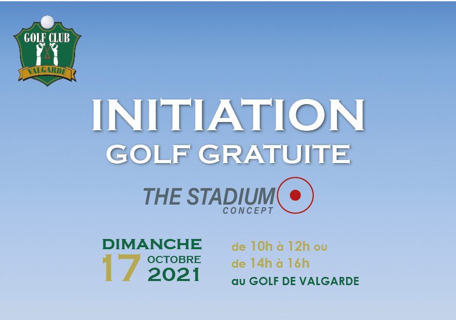 Initiation Gratuite au Golf – dimanche 17 octobre 2021